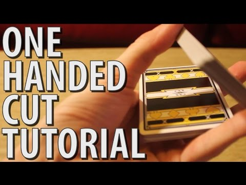 Magic Tutorial: Charlier Cut (One Handed Cut) 7#