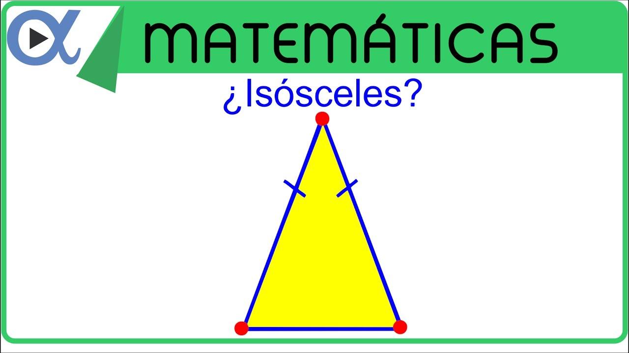 Verificar Que Los Puntos A B Y C Son Los Vértices De Un Triángulo Isósceles Geometría Analítica Youtube