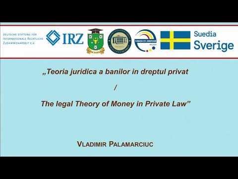 V. Palamarciuc — Teoria juridica a banilor in dreptul privat