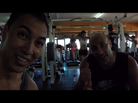 The Hammerhead Gym in Seminyak Bali! A good Bodybuilding Gym!