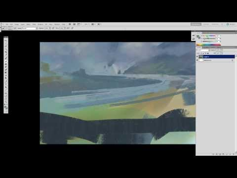 Quick Landscape painting