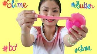 Cách Làm Slime Bơ Bằng Đất Sét Nhật Bản | Butter Slime | Như Quỳnh Kids