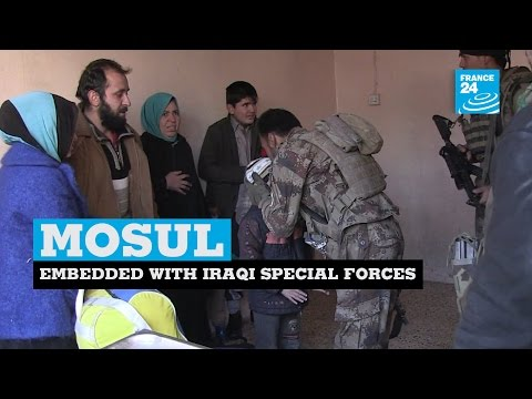 Iraq: special forces clear Mosul's houses one by one to rescue residents and find IS militants