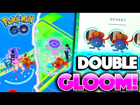 DOUBLE GLOOM WITH NEW TRACKING SYSTEM! Pokemon Go QUADRUPLE XP EVOLUTIONS!