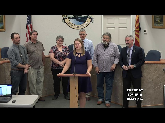Cottonwood Council Pre Meeting, Proclamations and Awards