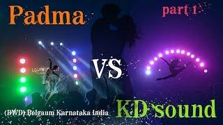 Part 1 Dharwad Ganesh Utsav 2018 final Visarjan time Padma