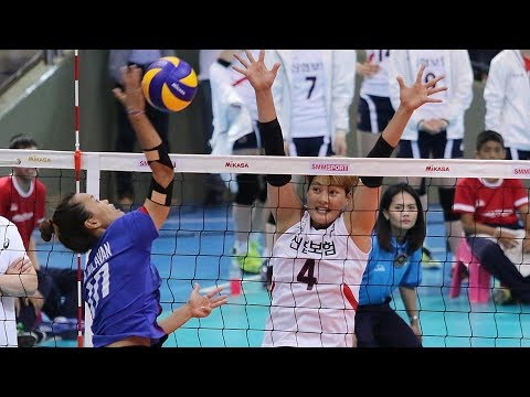 SET 1 | Korea-Thailand Pro Volleyball All-Star Super Match 2017 | ไทย - เกาหลีใต้ | 3/6/60