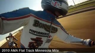 MotoUSA 2010 AMA Flat Track Minnesota Mile