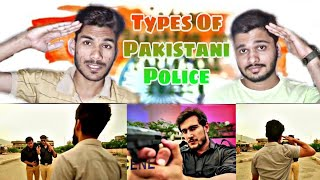 Indian REACTION ON  Types Of Police Officers In Pakistan By Our Vines & Rakx Production 2018 New
