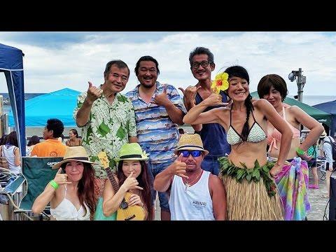 Summer湘南BBQ❤ビキニも踊るKanaloa Live!