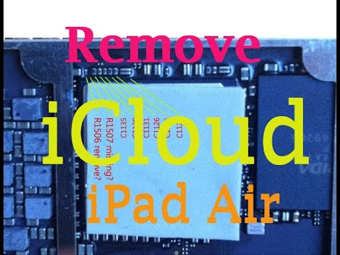 Update Bypass Icloud Ipad Air Full Detail And Schematic