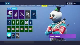 Fortnite - Buying Snowman Skin! (Slushy Soldier - Item Shop 1/8/19)