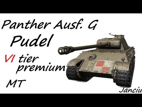 Panther Ausf. G Pudel - polski czołg premium VI tieru - World of Tanks