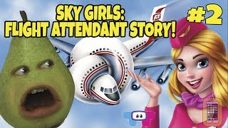 Pear FORCED to Play - SKY GIRLS: Flight Attendant Story #2