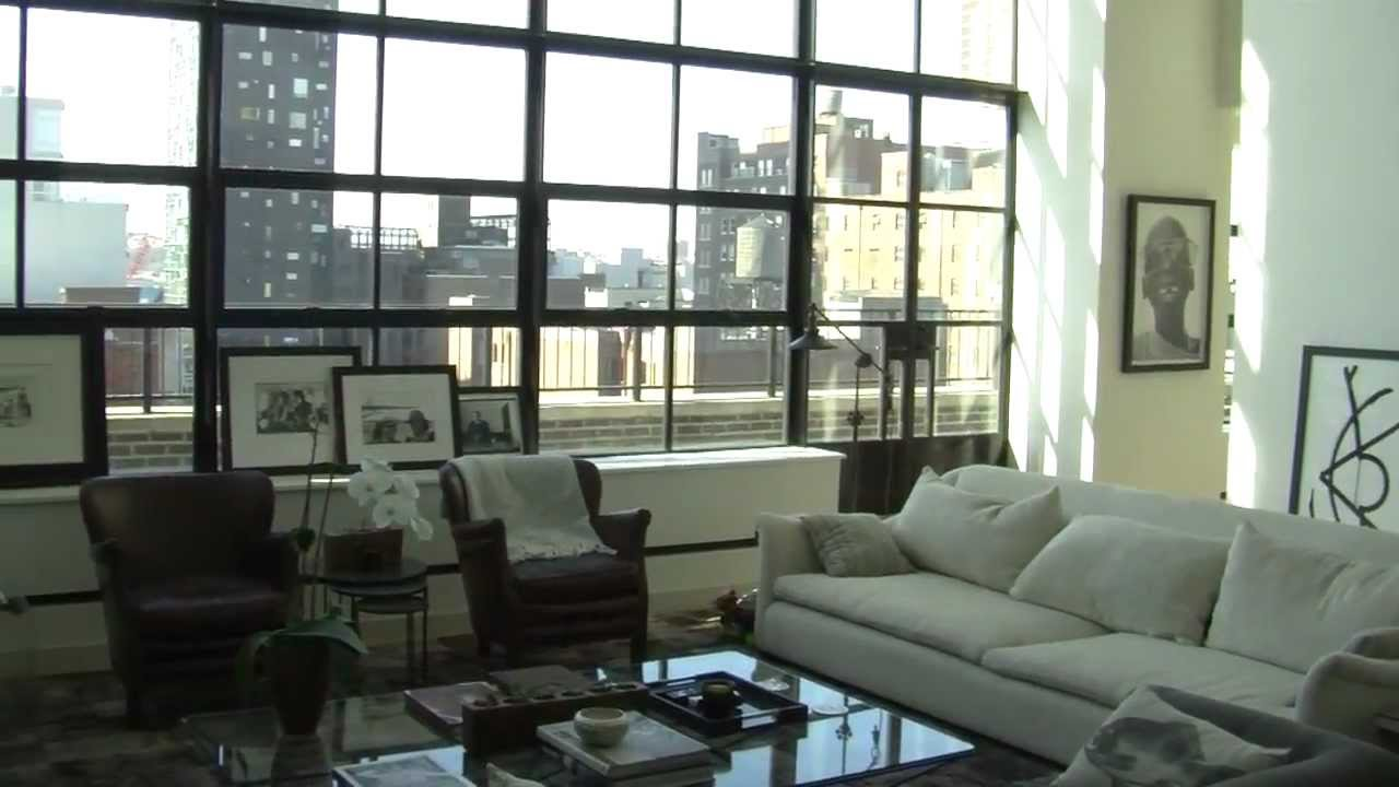 Home automation example of a new york loft apartment youtube for Loft apartments in nyc