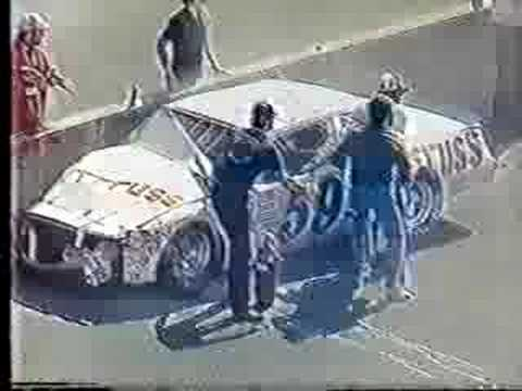 1982 Daytona 500- Tighe Scott Crash