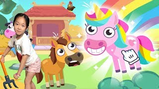 Little Farm Life - Kids Learn to Feed Farm Animals - Funny Cartoon Games for Kids By TutoToons