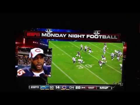 Lance Briggs interview interrupted by Michael Ford