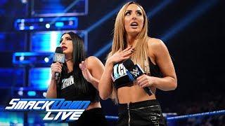 Billie Kay & Peyton Royce promise to make WrestleMania IIconic: SmackDown LIVE, April 2, 2019 thumbnail
