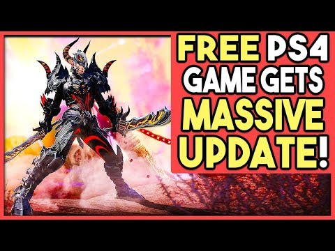 FREE PS4 GAME GETS MASSIVE UPDATE!