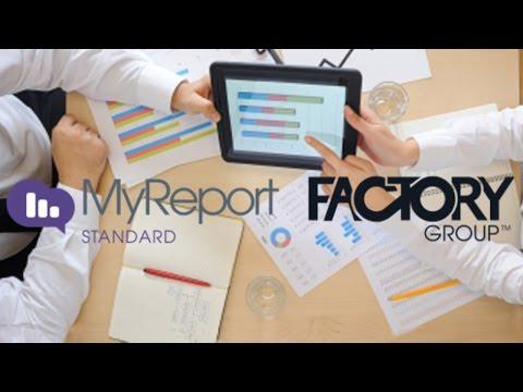 Webinar : Découverte de MyReport par Report One - Factory Group