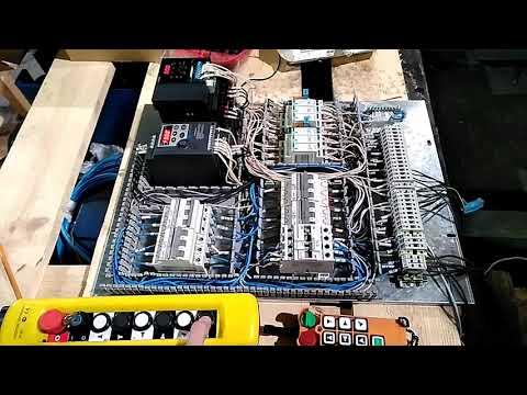 Пусконаладочные работы электрической схемы крана