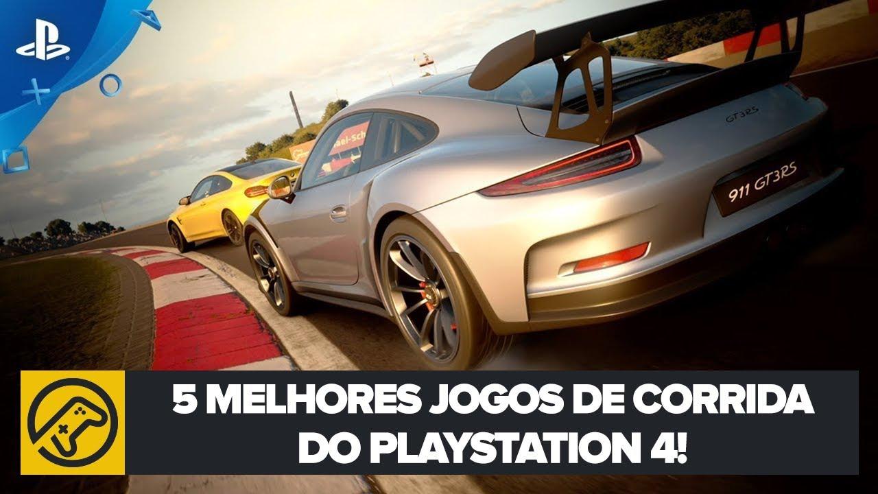 5 melhores jogos de CORRIDA do PS4!