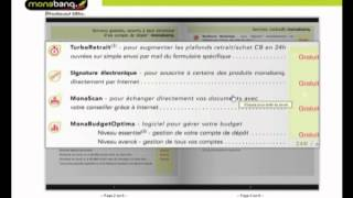 Monabanq: la banque en ligne, claire, sans horaire... et surtout sans déplacements !