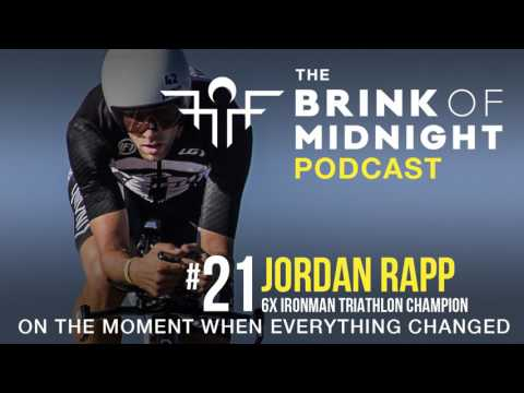 #21: JORDAN RAPP, 6x Ironman Triathlon Champion, ITU World Champion
