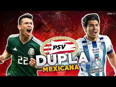 Erick Gutierrez & Chucky Lozano   La Dupla MEXICANA en el PSV   2018/2019 HD