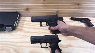 Sig P320 M17/M18 A Nova Pistola do Exército Americano