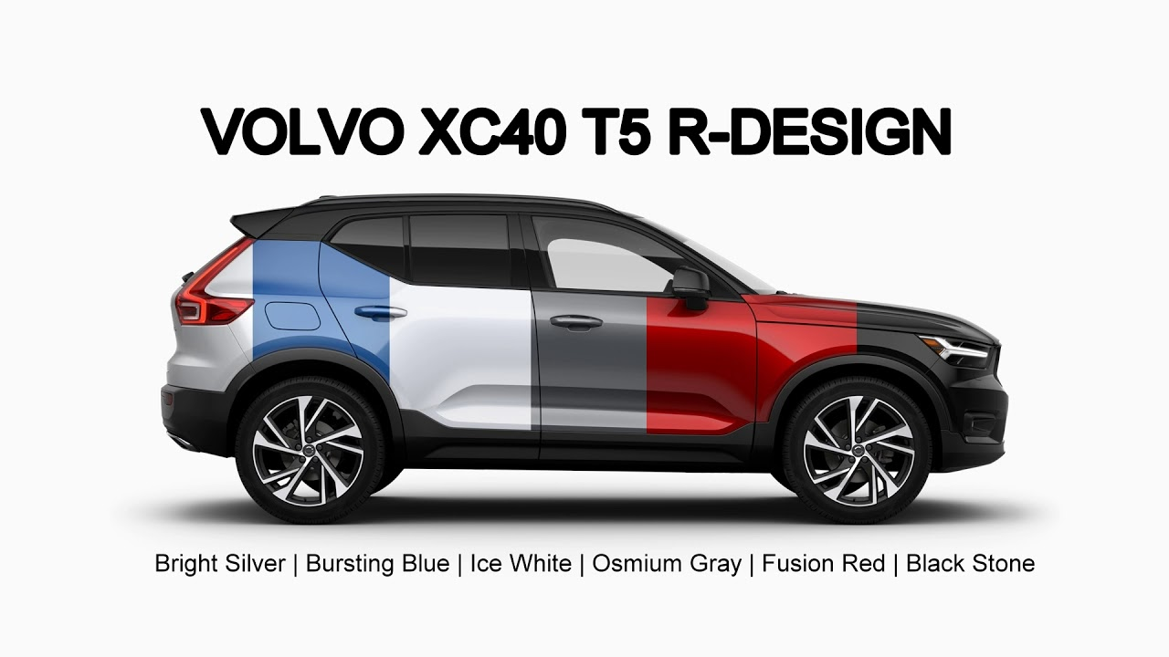 Xc40 T5 Awd Rdesign Exterior Colors