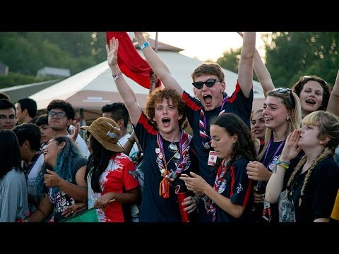 The fun begins at the 24th World Scout Jamboree