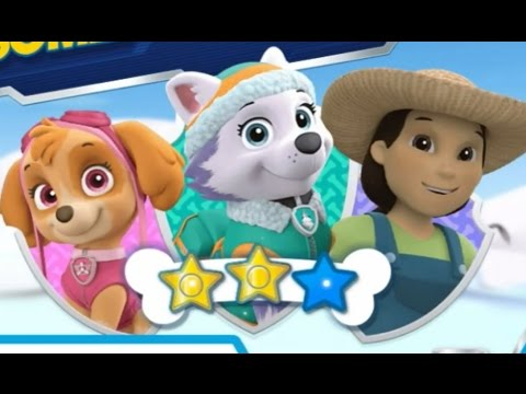 Paw Patrol review Everest action pack and badge - YouTube