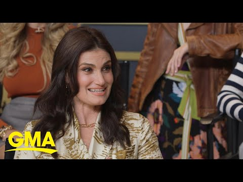 Idina Menzel prepares for magical performance at the Oscars | GMA