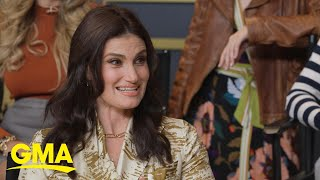 Idina Menzel prepares for magical performance at the Oscars   GMA