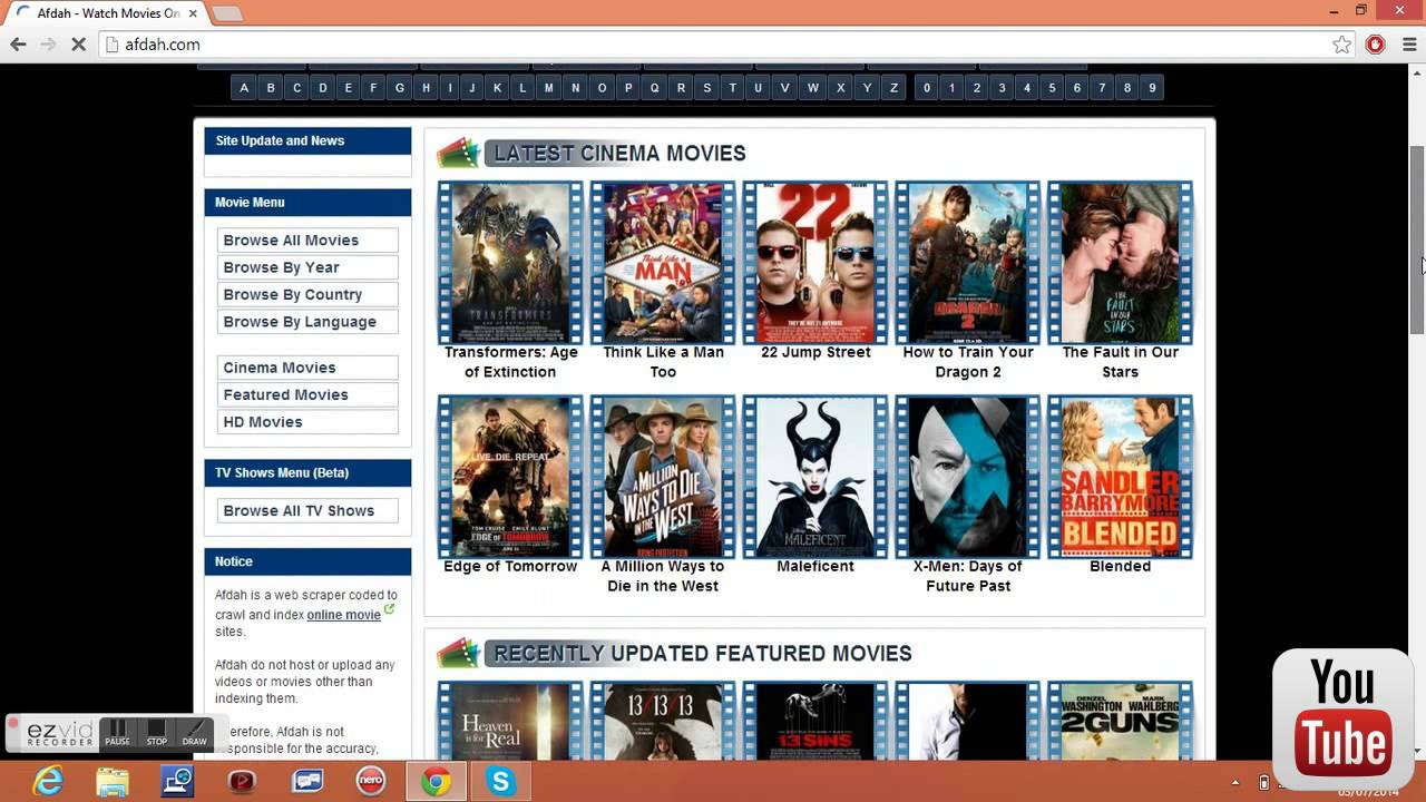 free online movie sites no sign up