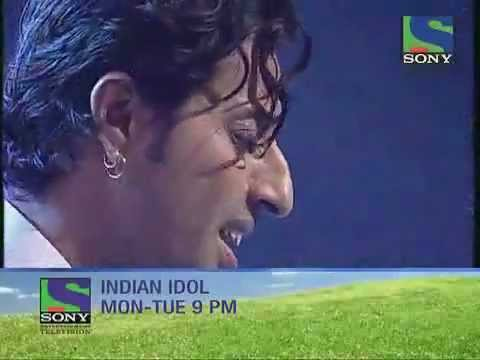 Indian Idol 5 Salim merchant singing ye hosla.flv kishan pareek makrana