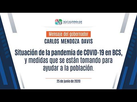 Situación de la pandemia de COVID-19 en BCS