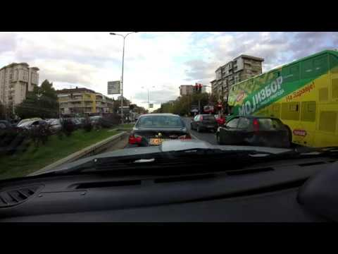 Driving in Skopje |Pajero Sport