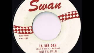 la dee dah billy lillie big late 50 s rock and roll hit