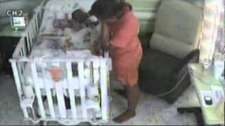 Teenage Mother Caught On Tape Trying To Kill Her Baby