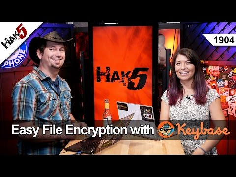 Easy File Encryption with Keybase - Hak5 1904