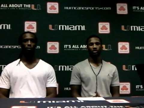 Julian Gamble Interviews LaRon Byrd & Jacory Harris 2-18-11