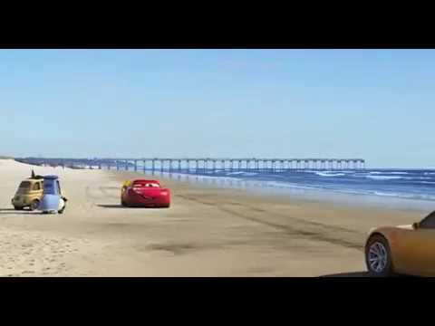 Cars 3 New Scene at Beach and Lewis Hamilton !