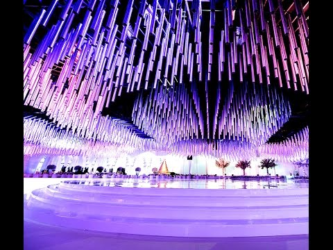 Waves of Light - Wedding Planner in Dubai by EventChic Designs