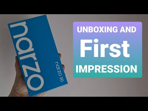 REALME NARZO 30 Unboxing! Your Exclusive First Look Of The Latest Gaming Phone By REALME in Malaysia
