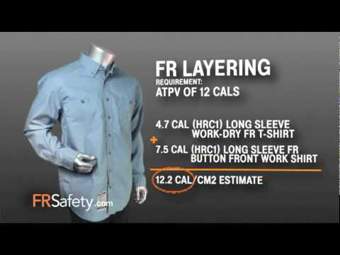 Carhartt Flame Resistant Clothing Layering Information Youtube