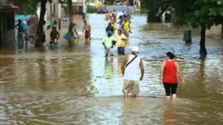 Rio Crecido de Birongo causal incontrolables