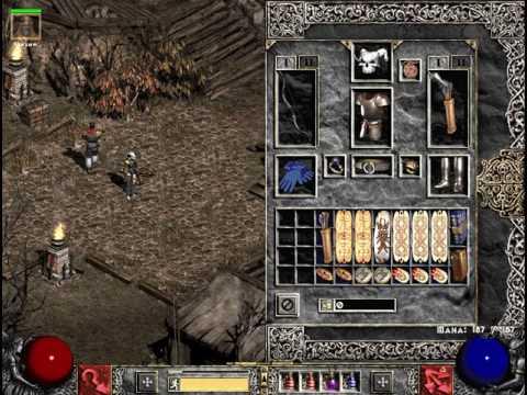Diablo 2 Single Player Bowazon Build